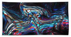 Hand Towel featuring the digital art Phoenix by Richard Thomas