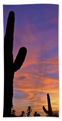 Phx July 2014 Sunsets 3 Hand Towel