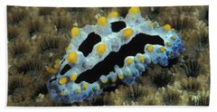 Phyllidia Nudibranch, Phyllidia Hand Towel