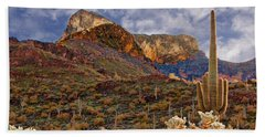 Picacho Peak Bath Towel