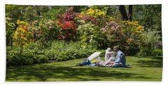 Summer Picnic Hand Towel by Spikey Mouse Photography