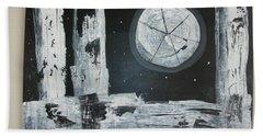 Pie In The Sky Hand Towel by Sharyn Winters