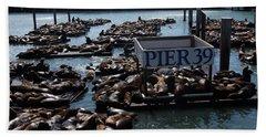 Pier 39 San Francisco Bay Hand Towel