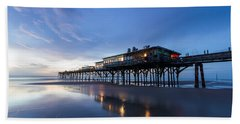 Pier At Twilight Bath Towel