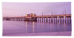 Pier In The Sea, Gulf State Park Pier Hand Towel