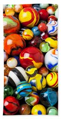 Pile Of Marbles Hand Towel