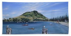 Pilot Bay Mt M 291209 Hand Towel by Sylvia Kula