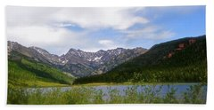 Piney Lake In Upper Vail Hand Towel