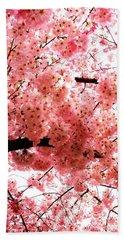 Pink Canopy Bath Towel by Patti Whitten