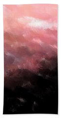 Pink Clouds Bath Towel