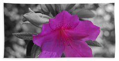 Pink Flower 2 Hand Towel