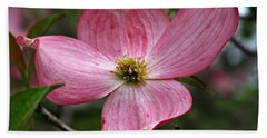 Pink Flowering Dogwood Hand Towel
