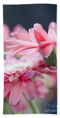 Pink Gerber Daisy - Awakening Hand Towel by Ivy Ho
