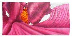 Pink Lady Square Dance Bath Towel by Darren Robinson