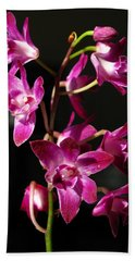 Pink Orchid Hand Towel