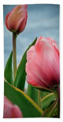Pink Passion Bath Towel by Athena Mckinzie