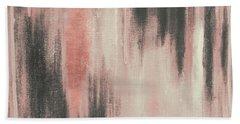 Pink Paysage II Hand Towel