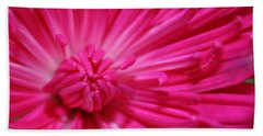 Pink Petals Hand Towel by Inspired Arts