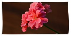 Hand Towel featuring the photograph Pink by Ramona Matei