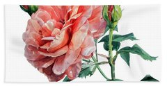 Pink Rose Odette  Bath Towel