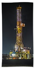 Pioneer Drill Rig # 77 Hand Towel
