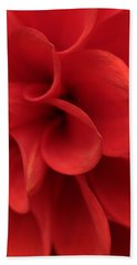Scarlet Pipes Hand Towel