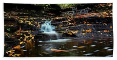 Pipestem Falls Hand Towel by Melissa Petrey