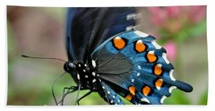 Pipevine Swallowtail Hand Towel