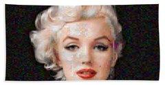 Pixelated Marilyn Hand Towel