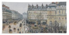 Place Du Theatre Francais    Paris  Rain Bath Towel