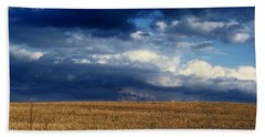 Bath Towel featuring the photograph Plain Sky by Rodney Lee Williams
