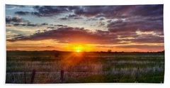 Plains Sunset Hand Towel