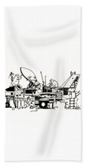 Playground Bath Towel