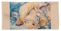You Need Another Nap, Polar Bears Hand Towel