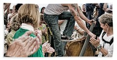 The Lost Bayou Ramblers Pleasing The Crowd Hand Towel