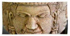 Pleasure Anger Sorrow Joy Bath Towel by Lehua Pekelo-Stearns
