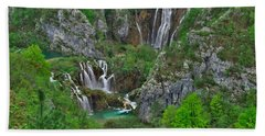 Plitvice Bath Towel