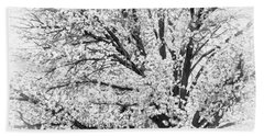 Hand Towel featuring the photograph Poetry Tree by Roselynne Broussard