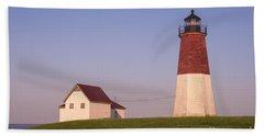 Point Judith Lighthouse Bath Towel