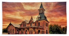 Point Of Rocks Train Station  Hand Towel