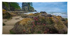 Point Of The Arches Beach Hand Towel
