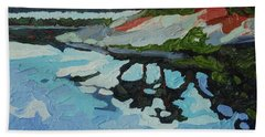 Point Paradise Bath Towel by Phil Chadwick