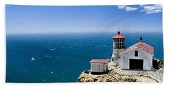 Point Reyes Lighthouse California Bath Towel