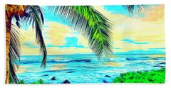 Poipu Sunrise Hand Towel