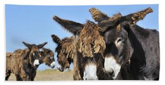 Hand Towel featuring the photograph Poitou Donkey 3 by Arterra Picture Library