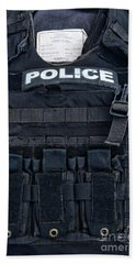 Police - The Tactical Vest Bath Towel