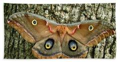 Polyphemus Moth Hand Towel