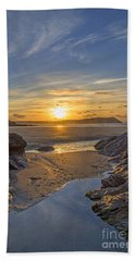 Polzeath Sunset Hand Towel