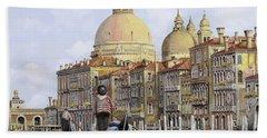 Pomeriggio A Venezia Hand Towel