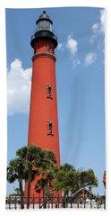 Ponce De Leon Inlet Lighthouse Bath Towel